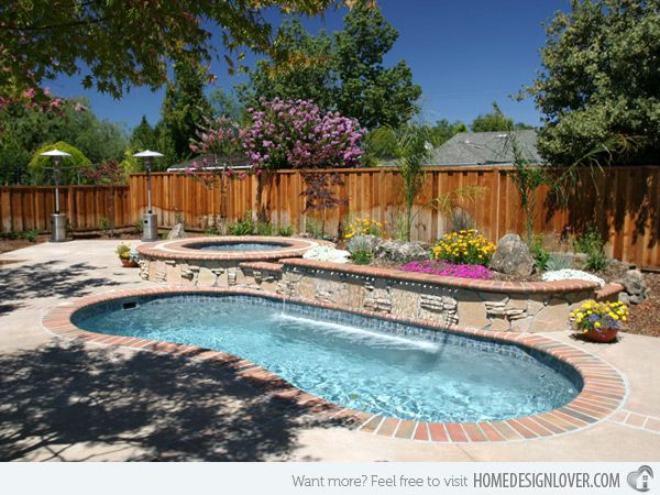 20 Exquisite Kidney Shaped Pool Designs - Home Design Lover