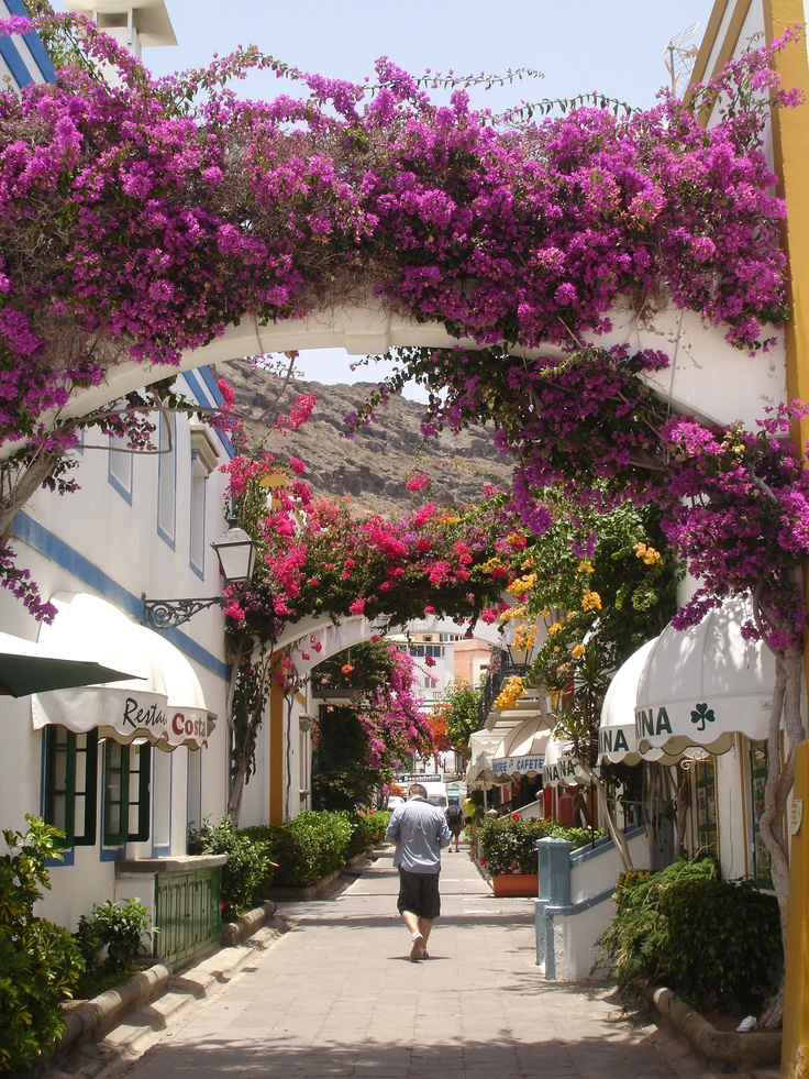 Puerto Mogan - the loveliest place we visited whilst in Gran Canaria
