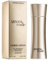Armani Code Golden Eau de Toilette Pour Homme Spray, 2.5 oz - Limited Edition $77.00
