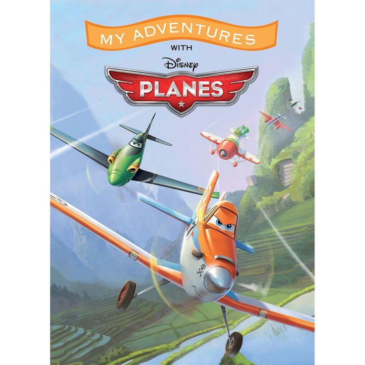 Make your child part of the adventure when you add their name into this personalized book based on Disney's Planes!