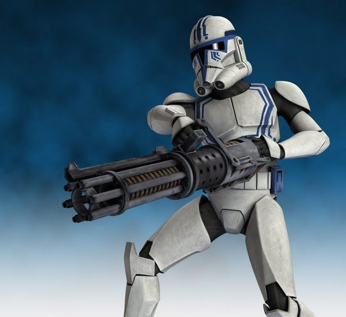 What is it with clone heavy gunners sacrificing themselves?
