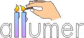 Orthographe illustrée dans Images mentales allumer
