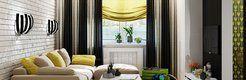 Желтые акценты нового дизайн проекта в свежем выпуске Идеи Вашего Дома