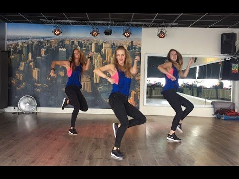 Vente Pa'Ca - Ricky Martin ft Maluma - Easy Fitness Dance Choreography Workout - YouTube