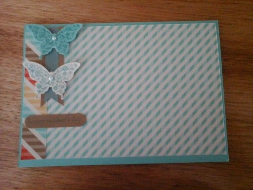 Mother's Day Card using Stampin' Up Products!