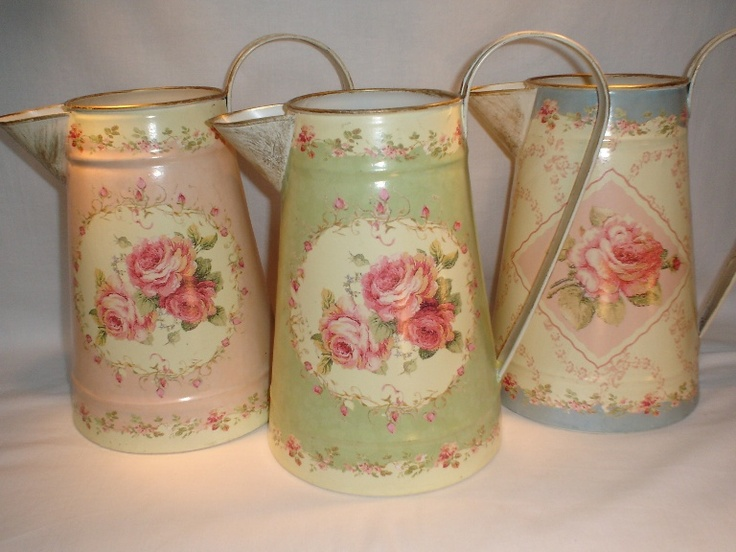 Decorated Water Jugs