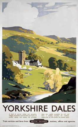 'Yorkshire Dales', BR (NER) poster, 1953., Sherwin, Frank