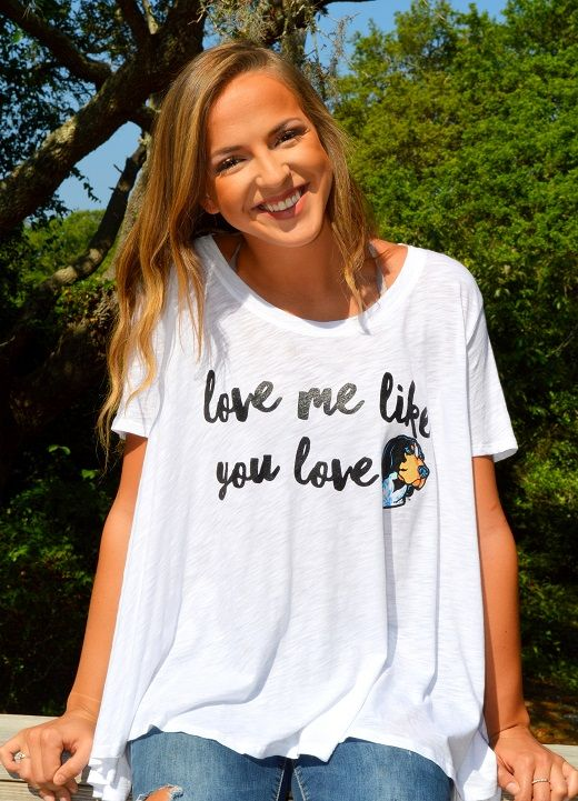 UNIVERSITY OF TENNESSEE - FLOWY TEE W/