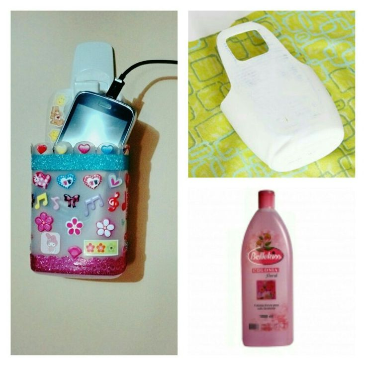Porta celular. Botella reciclada.Phone case. recycled bottle