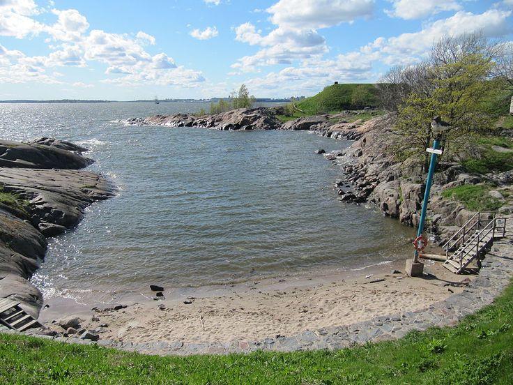 Beach in Suomenlinna - Suomenlinna - Wikipedia, the free encyclopedia