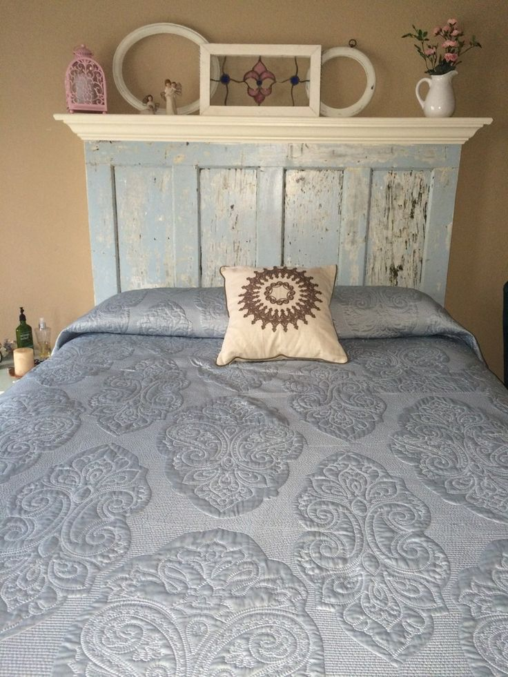The 25 best vintage headboards ideas on pinterest door for Queen headboard ideas