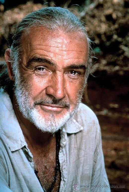 A silver Scottish fox: Sean Connery.
