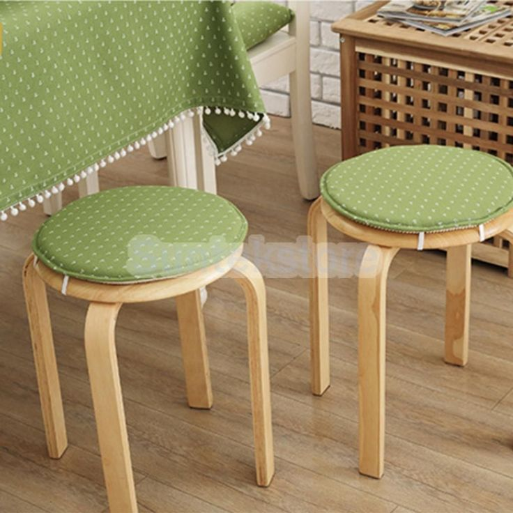 Round Chair Cushion Seat Pads Dining Tatami Outdoor Home Decor Green Anchor