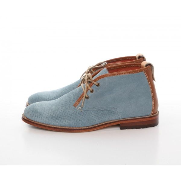 Best Selling M Moustache Fernand Blue Lace up shoes 230293 Mens Bleu marine M Moustache Mens Lace up shoes
