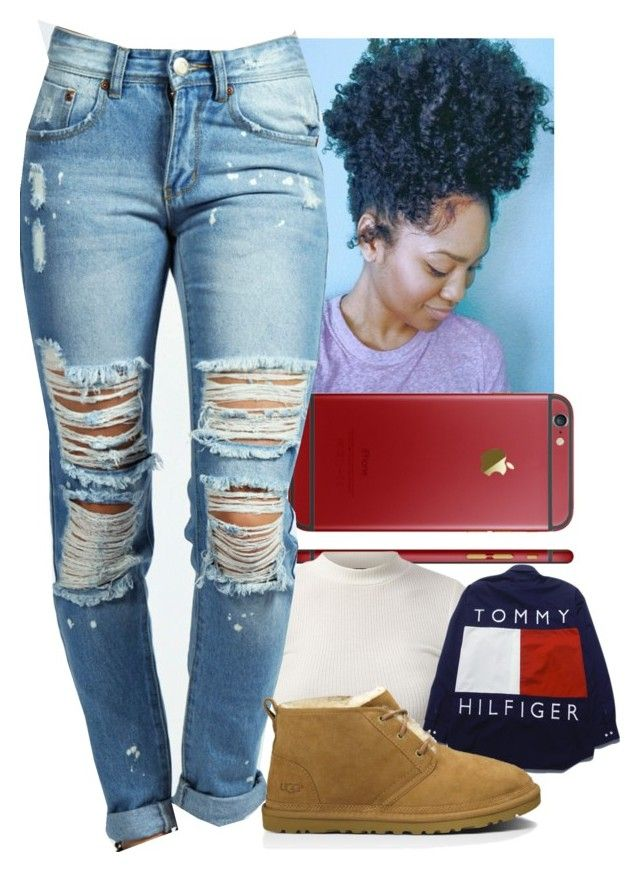 """""""😍"""" by jawnnsowavyy2 on Polyvore featuring Boohoo and UGG Australia"""