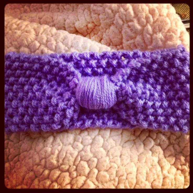 Free knit baby headband pattern... on my blog ...