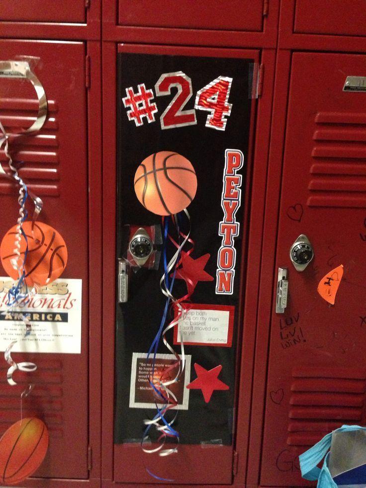 Image Result For Basketball Locker Decorations Sports