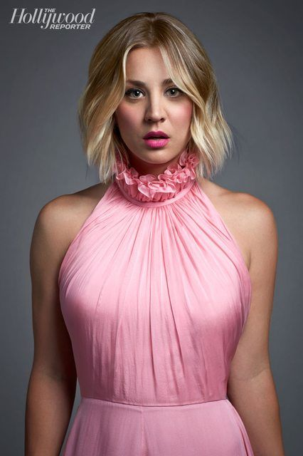 Kaley Cuoco -The Hollywood Reporter Photoshoot 2014