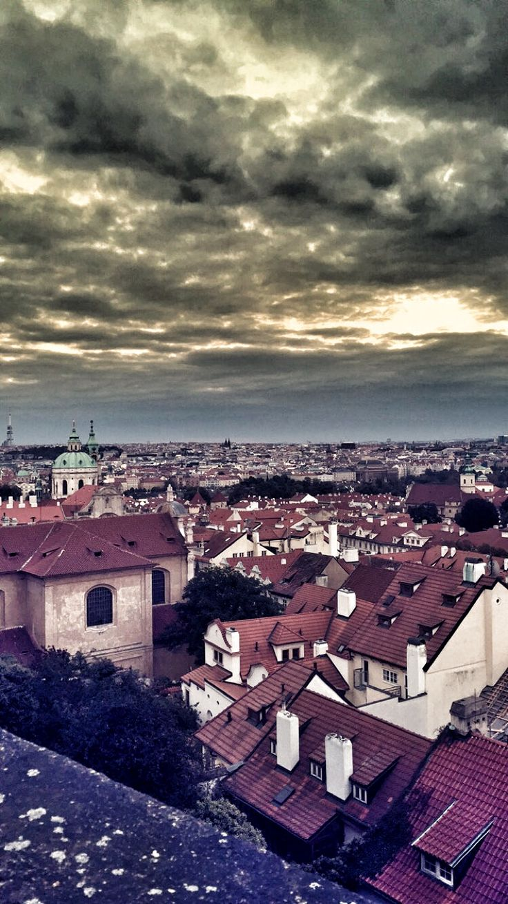 Prague, View from castle