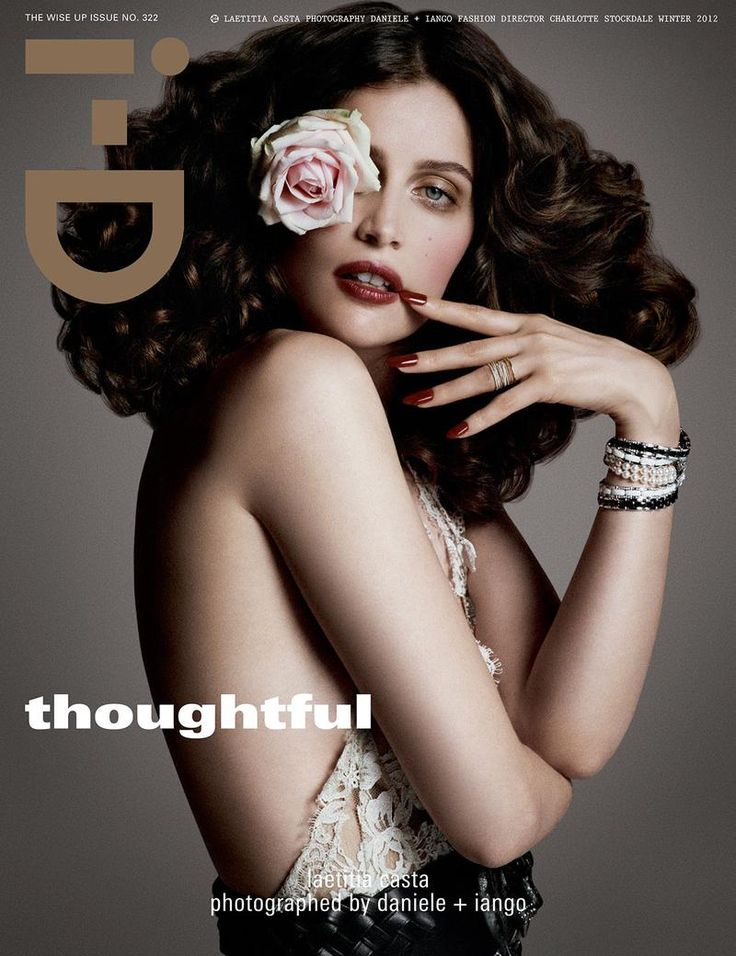i-D Magazine, Winter 2012 #cover | Laetitia Casta by Daniele Duella and Iango Henzi for the Wise Up issue