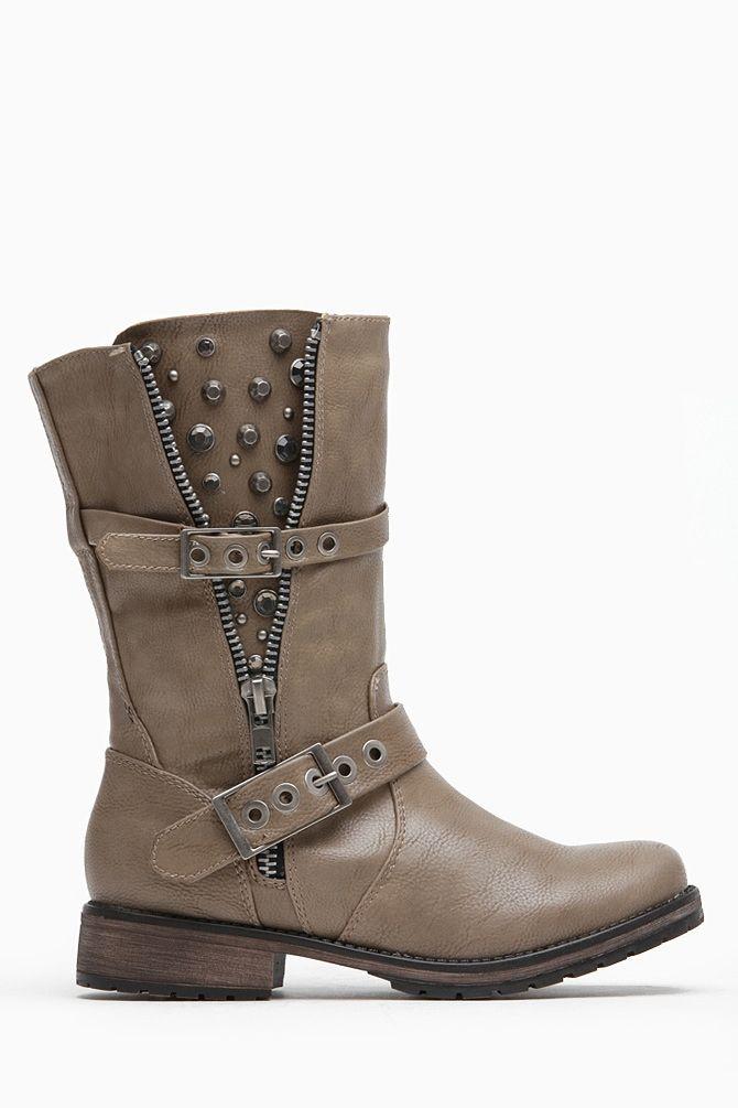 Embellished  Rider Boots
