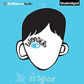 """Another must-listen from my #AudibleApp: """"Wonder"""" by R. J. Palacio, narrated by Diana Steele."""