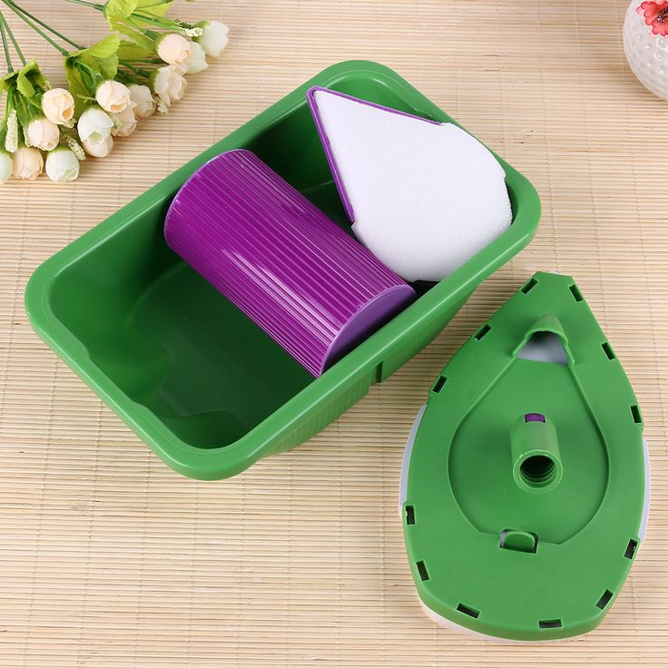 2017 Decorative Paint Roller and Tray Set Painting Brush Point N Paint Household Decorative Wall Tool Multi Function Paint Pad