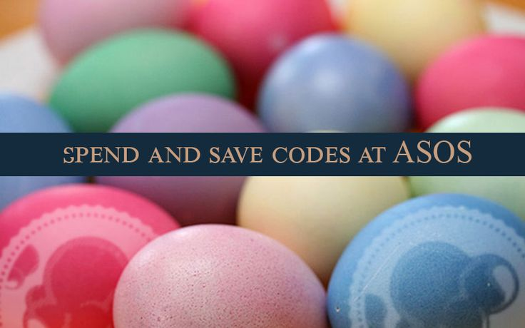 Visit and shop at ASOS now to get discount up to 50€. www.codesium.com This is the Easter promotion.