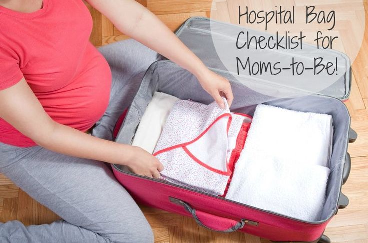 Hospital Bag Checklist for Moms-to-Be! - Momma T and Family