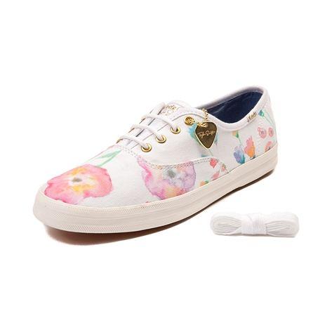 keds champion pink eyelet shoes
