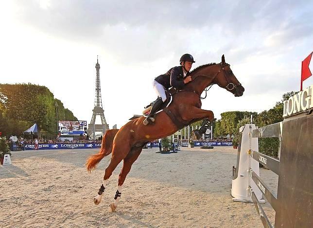 19 year old Bertram Allen makes history as the youngest ever Longines Global Champions Tour Grand Prix winner! Paris Eiffel Jumping 2015 au Champ de Mars. 3- 5 Luglio 2015