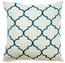 Bocce Teal Cushion Boyd Blue