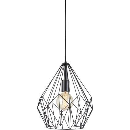 Eglo hanglamp 'Vintage' 1 x E27 spinnenweb 47eur - brico
