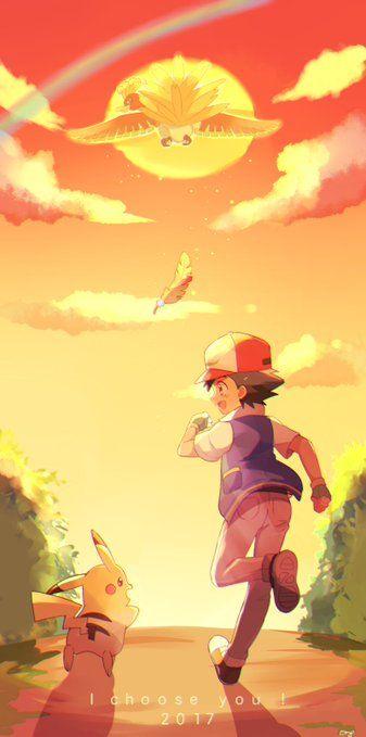 "La nueva película de pokemon 2017, ""pokemon yo te elijo"" es del especial 20 aniversario del mundo pokemon. Ya quiero verla :'D"
