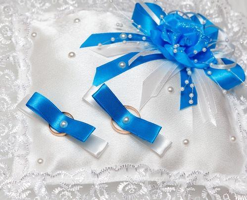 дизайн свадебной подушечки для колец