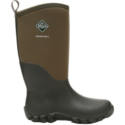 Muck Boot Adults' Edgewater II Multipurpose Boots (Brown, Size 14 ...