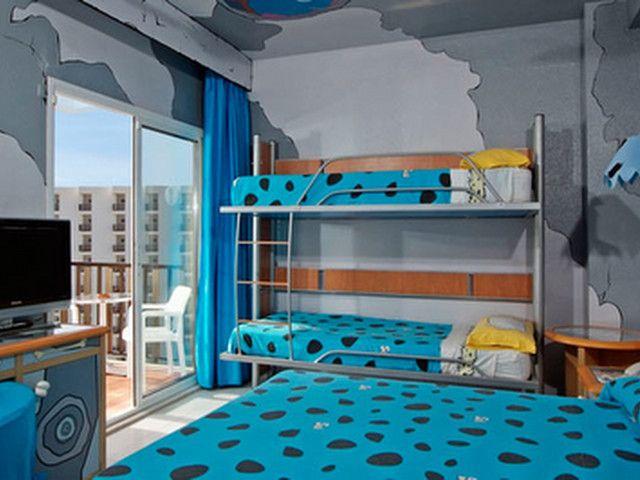 Habitaci n picapiedra hotel sol milanos pingu nos for Hoteles con habitaciones familiares