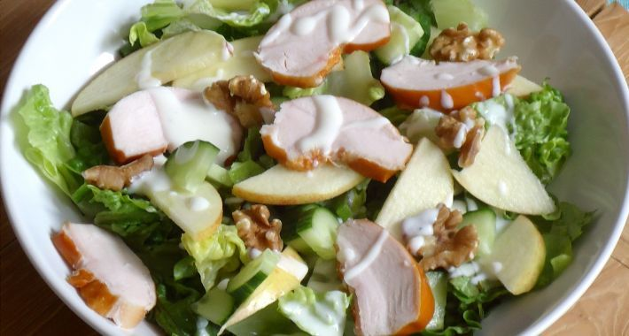 Snelle Waldorf Salade