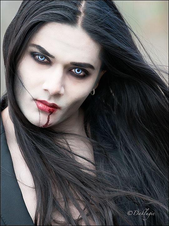 Gothic Guy Vampire Boy Tanji Nyc Male Vampire