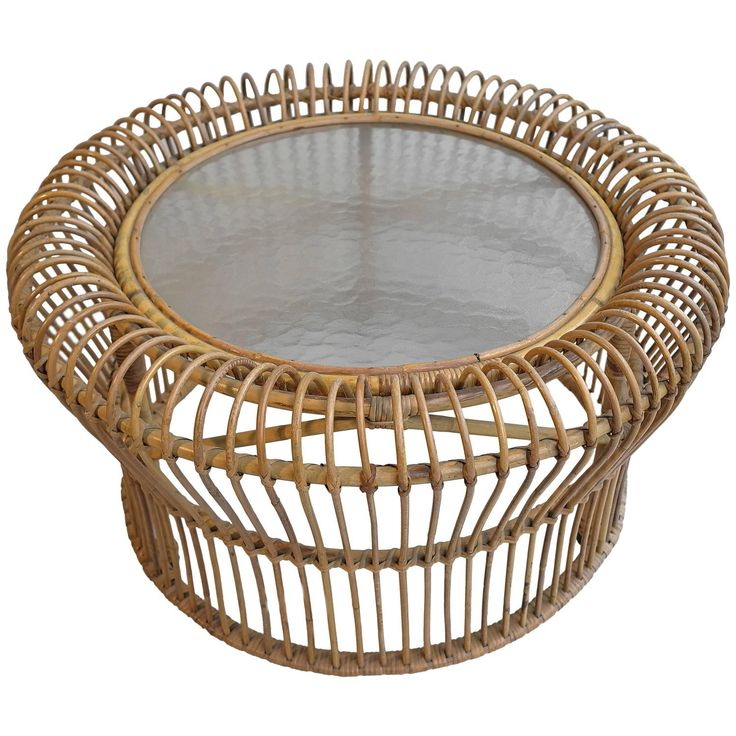Italian Rattan Coffee table in style of Franco Albini - 25+ Best Ideas About Rattan Coffee Table On Pinterest Slimming