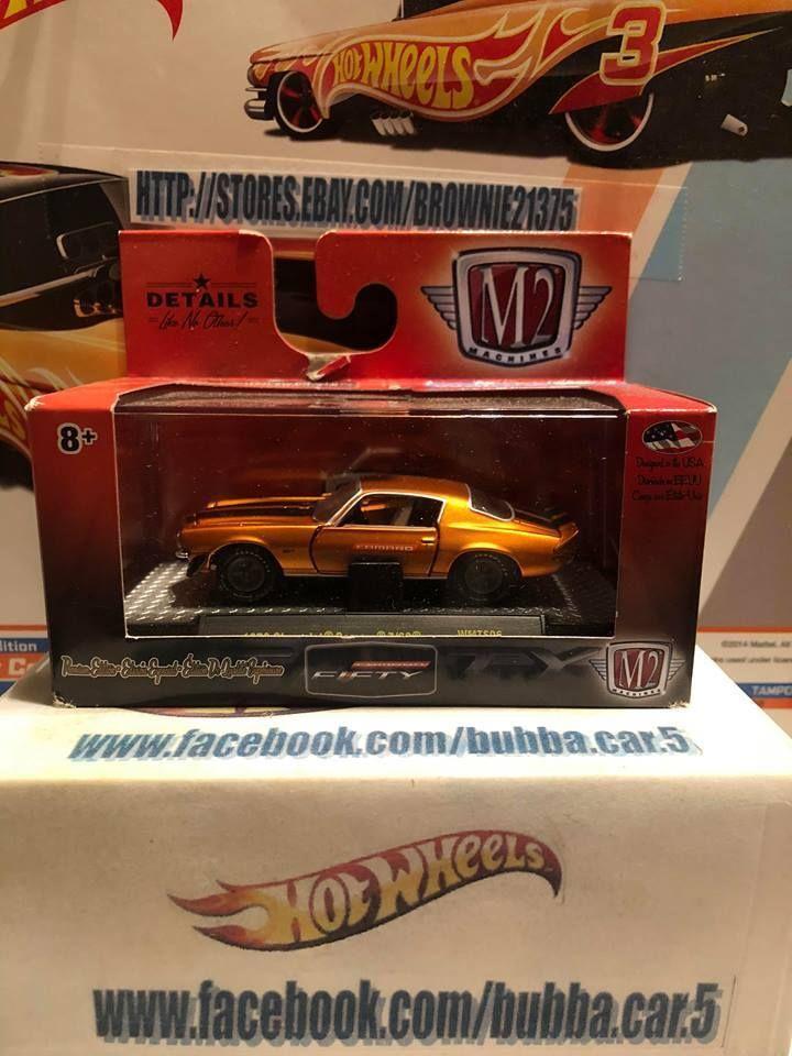 M2 Machines 2017 Camaro Fifty Years 1972 Chevrolet Camaro Z28