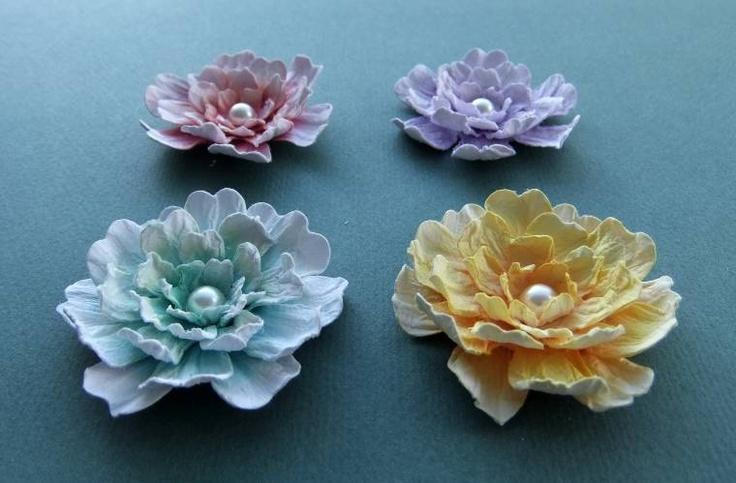 96 best handmade flowers tutorials images on pinterest for Handmade paper flowers tutorial