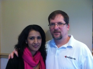 Week 7 i had the pleasure to have coffee with my good friend Raj Thandhi of Fronte and Sentre Communications