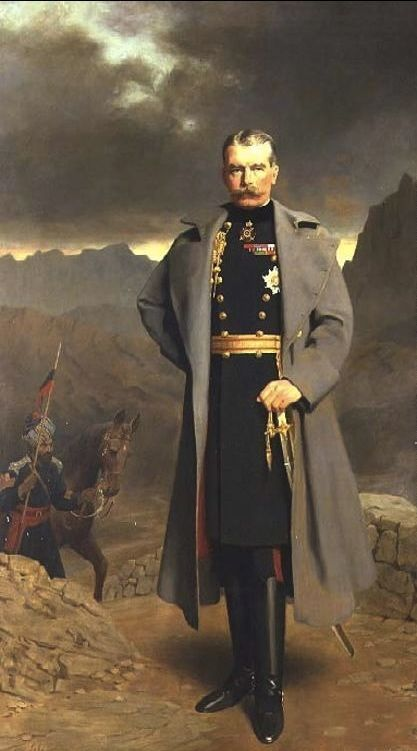 The Athenaeum - Field Marshal Earl Kitchener of Khartoum (John Maler Collier - No dates listed)