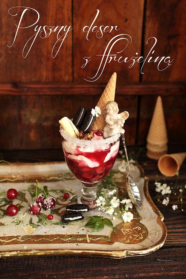 Deser wiśniowy dessert