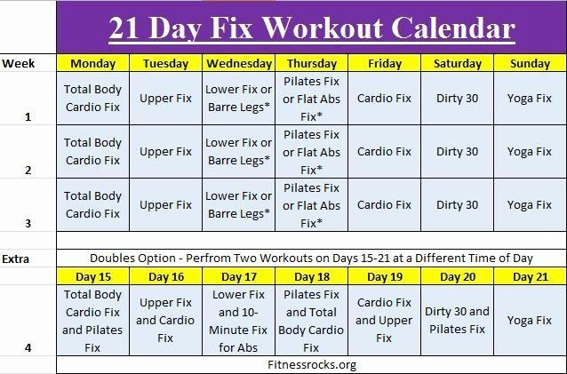 21 Day Fix Calendar Template Lovely Autumn S 21 Day Fix Training Schedule Free D In 2020 Beachbody 21 Day Fix 21 Day Fix Workouts 21 Day Fix Snacks