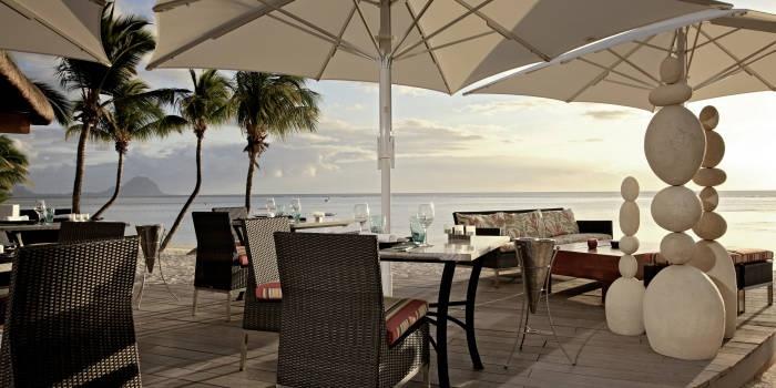 Restaurant at Sugar Beach Resort wonderful memories of where I got married xx