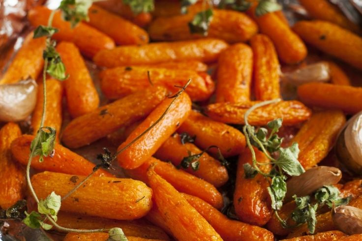 Un accompagnement qui se démarquera... la carotte cuite au four
