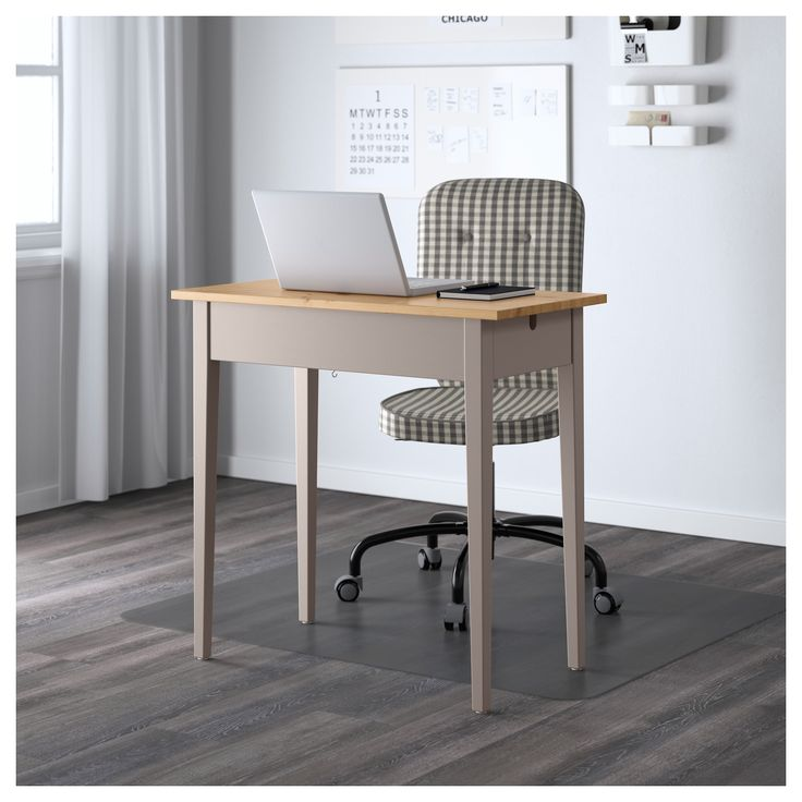 IKEA NORRÅSEN laptop table Solid wood is a durable natural ...