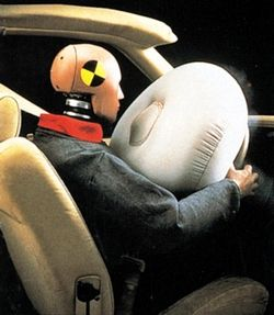 "Airbags + ammonium nitrate = bad combo: ""...by 2001 Takata had switched to an alternative formula, ammonium nitrate, and started sending the airbags to automakers... [which] is highly sensitive to temperature changes and moisture, and it breaks down over time. And when it breaks down, it can combust violently..."""